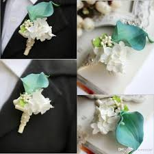 Cheap Wedding Decorations Online by 2017 New Wedding Supplies Collection Groom Groomsmen Brooch