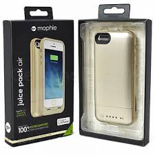 New 100% Mophie Juice Pack Air 1700mAh iPhone 5 5S SE Gold Battery