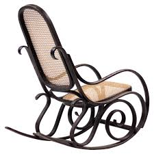 Thonet Bentwood Chair Cane Seat by Art Nouveau Rocking Chairs 10 For Sale At 1stdibs