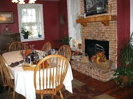 Dining Room With Fireplace House Bed Breakfast W Victorian