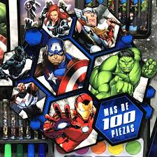 Mega Set Creativo De Actividades Avengers