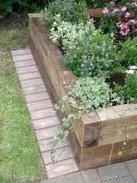 garden greenes fence raised garden bed throughout nice edging
