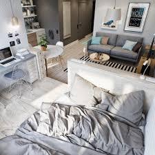 One Bedroom Apartment Interior Design Modern Small Decorating Ideas Studio Living