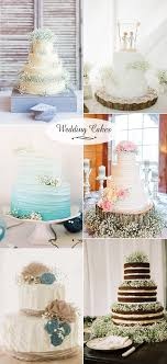 Glamourous Babys Breath Wedding Flower Inspired Cakes