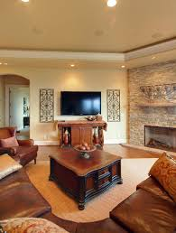Living Room With Fireplace Design by 51 Grand Living Room Interior Designs