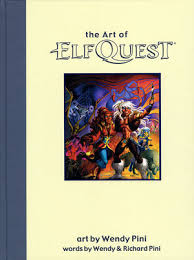Art Of Elfquest Signed Deluxe Edition By Wendy And Richard Pini