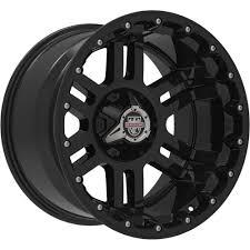 100 20 Inch Truck Rims Center Line Lifted Series LT1B Black Wheels X12 5x135
