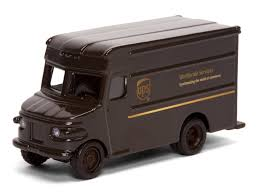 UPS Delivery Die Cast Truck 1:55 Scale * Continuously The Item At ...
