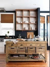 ilot cuisine palette cuisine ilot de cuisine central cuisine rustique ilot en bois de