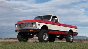 100 4x4 Chevy Trucks For Sale This 1972 Cheyenne Powered By A Supercharged LS V8 Is The