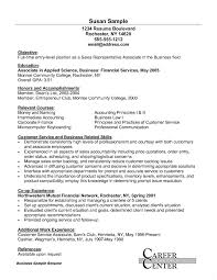Entry Level Customer Service Resume Sample For Retail Sales