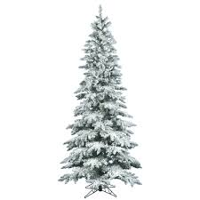 Noble Fir Flocked Artificial Christmas Tree by Review Artificial Christmas Trees Christmas Lights Decoration