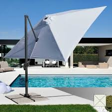 Professional Aluminum Garden Umbrella PA303UFR With Arm For Swimming Pools And Outdoor