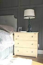 Ikea Tarva 6 Drawer Dresser Hack by Ikea Dresser Hacks As Nightstands From Thrifty Decor