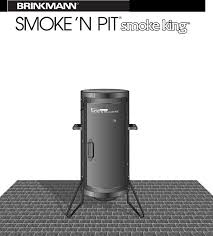 Brinkmann Outdoor Electric Grill by Brinkmann Gas Grill Outdoor Barbecue Grill U0026 Smoker User Guide