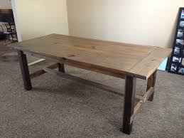 Dining Room Sophisticated Farmhouse Table Custom Build For Rh Ypsifreighthouse Org Round And Chairs Sale