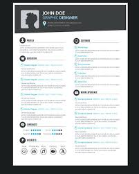 Resume Design Templates Graphic Designer Template Vector Creative Free Download Psd
