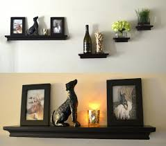 Kitchen Wall Ideas Pinterest by Wall Ideas Bedroom Wall Shelves Decorating Ideas Cute Idea For