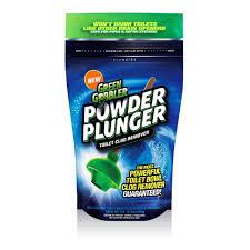 green gobbler 16 5 oz powder plunger toilet clog remover ggpp