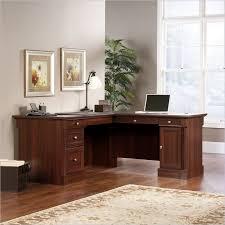 Sauder Parklane Collection Computer Desk Cinnamon Cherry by Sauder Office Corner Computer Desk