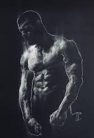 Kraftig VI Drawing By Jordan Eastwood | Saatchi Art
