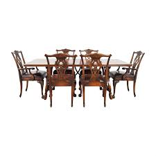 88% OFF - Carved Cherry Wood Dining Set With Leather Upholstered Chairs /  Tables Wayfair Black Friday 2018 Best Deals On Living Room Fniture Tag Archived Of Upholstered Parsons Ding Chairs 88 Off Carved Cherry Wood Set With Leather Tables Marvelous Diy Tufted Restoration White Genuine Kitchen Youll Love In 2019 Chair New Upholstery Shop Indonesia Classic Lion With Buy Fnitureclassic Ftureding Natural Lisette Of 2 By World 4x Grey Ding Jovita Faux A Affordable Italian Renaissance 1900 Antique 6