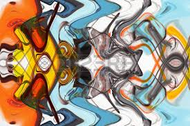 Art Abstract Multi Colored Pattern Background