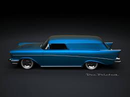 100 1957 Chevy Panel Truck Chevrolet Sedan Delivery Custom CARS Etc Cars