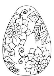 Easter Egg Designs Coloring Pages 01