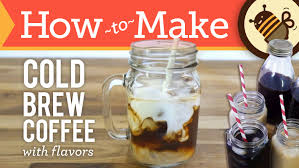 How To Make Cold Brew Coffee Flavors Vanilla Bourbon And