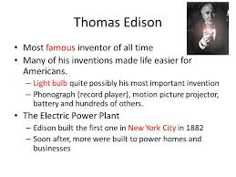 inventors and inventions ppt