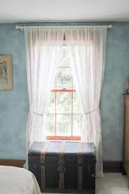 Carolina Panthers Bedroom Curtains by How To Style One Drapery Panel Six Ways Goodwill Industries Of