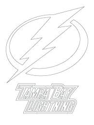 Lightning Coloring Pages Bay Logo Page Dragon