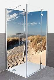 artland dusche bad rückwand wandverkleidung aus aluminium
