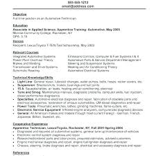 Auto Body Technician Resume Sample Automotive Tech Mechanic Templates Help Desk Job Description