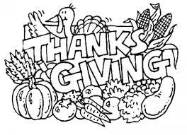 Thanksgiving Printable Coloring Book