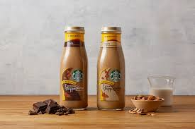 Bottled Frappuccino Chilled Coffee Drink With Almondmilk