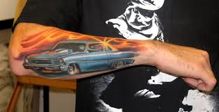 MUSCLE CAR By Brian Murphy TattooNOW
