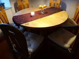 esszimmer kiefer massiv tisch und 6 stühle