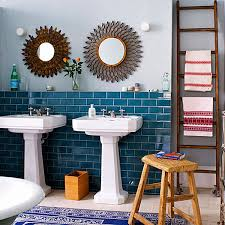Teal Color Bathroom Decor by From Navy To Aqua Summer Decor In Shades Of Blue