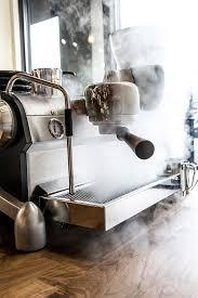 Little Victories Coffee Slayer Espresso Machine Steam Wood Crop