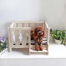 wooden dog beds amazon com