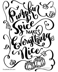 Pumpkin spice makes everything nice I loved making the pumpkin vine flourishes This original hand lettered design will be available soon on all kinds of