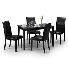 Dining Set - Hudson Dining Table And 4 Dining Chairs In Black HUD006 Aldridge High Gloss Ding Table White With Black Glass Top 4 Chairs Rowley Black Ding Set And Byvstan Leifarne Dark Brown White Fnitureboxuk Giovani Blackwhite Set Lorenzo Chairs Seats Cosco 5piece Foldinhalf Folding Card Garden Fniture Set Quatro Table Parasol Black Steel Frame Greywhite Striped Cushions Abingdon Stoway Fads Hera 140cm In Give Your Ding Room A New Look Rhonda With Inspire Greywhite Kids Chair