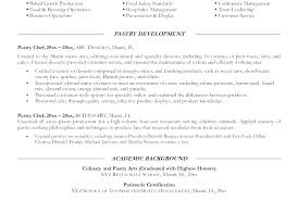 Line Cook Sample Resume Examples Pastry Chef Template Hospitality Industry Beautiful Restaurant