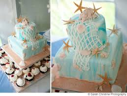 You Love Into Your Beach Theme And It Still Works With The White On Look Of Cake Starfish Creates A Very Elegant As Well