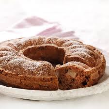 birnen schoko kuchen mit walnüssen