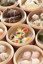steamer cuisine yumcha dim sum in bamboo steamer cuisine stock photo