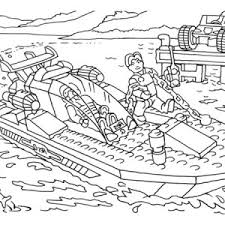 Lego World Coloring Page