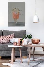 deco canapé gris quel cadre déco avec un canapé gris toile design et moderne